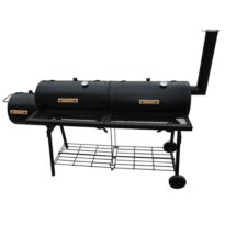 UrbanLFEstyle Barbecue-Smoker Grill Nevada XL Schwarz